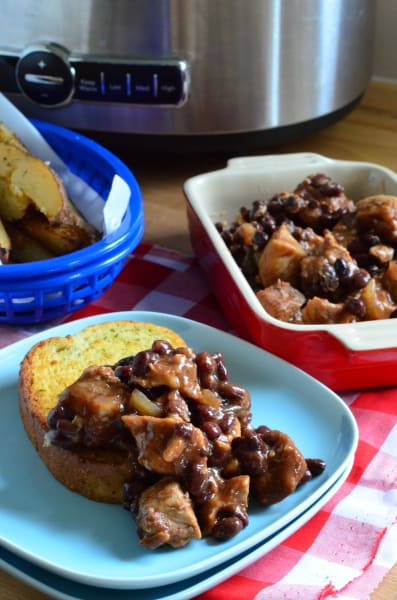 Pork and Black Beans Picture