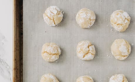 Easy Gluten Free Lemon Crinkle Cookies Recipe Picture