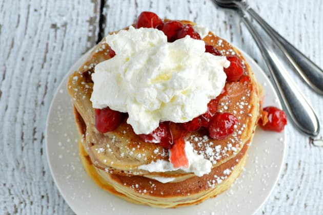 Cherry Pie Pancakes Pic