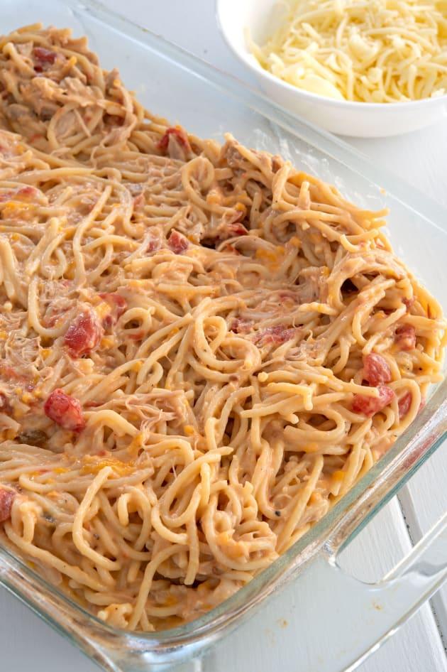 Chicken Spaghetti Bake Picture
