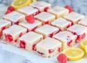 Raspberry Lemon Blondies