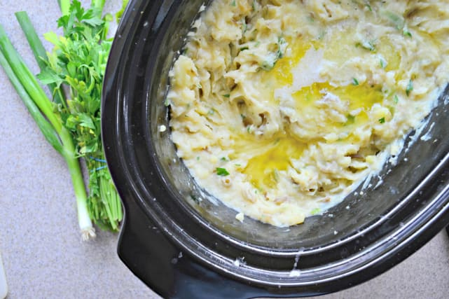 Slow Cooker Mashed Potatoes Recipe