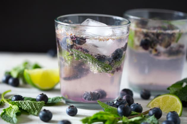 Blueberry Mojito Photo