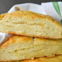 Garlic Herb and Cheddar Scones Recipe