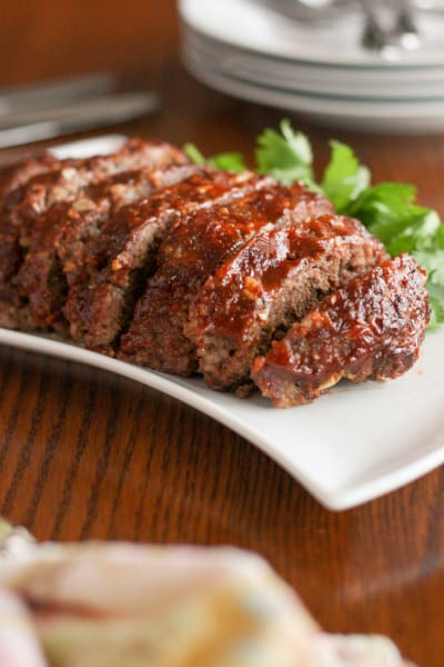 Gluten Free Slow Cooker Meatloaf Picture
