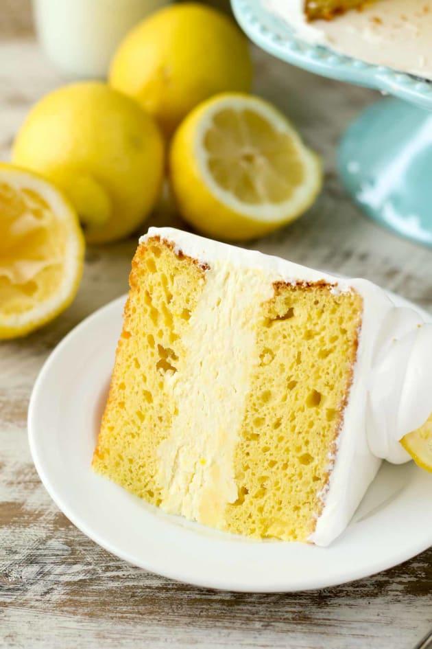 Lemon Ice Cream Cake Pic