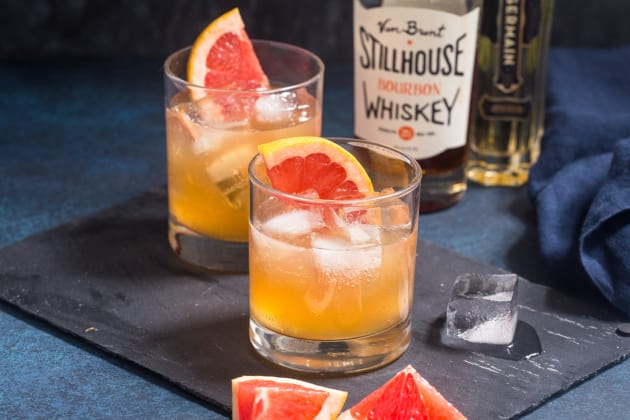 Grapefruit Whiskey Sour Photo