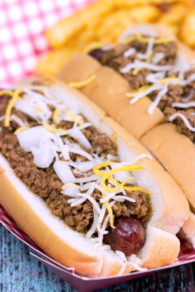 Chili Cheese Dogs Image