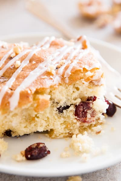 Cranberry Walnut Coffee Cake Pic