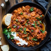 Instant Pot Cajun Chili Recipe