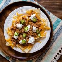 Shredded Chicken Nachos for Two Recipe