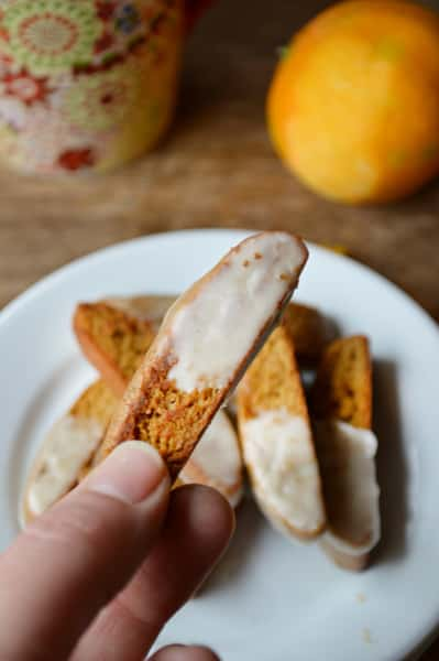 Gingerbread Biscotti Image