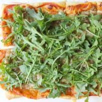 Puff Pastry Sausage and Arugula Pizza Recipe