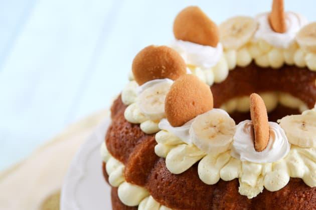 Banana Pudding Bundt Cake Photo
