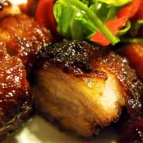 Outdoor Grilled Char Siew ( Chinese Barbecue Pork )