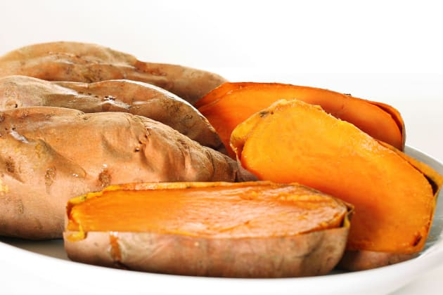 How to Bake a Sweet Potato Photo
