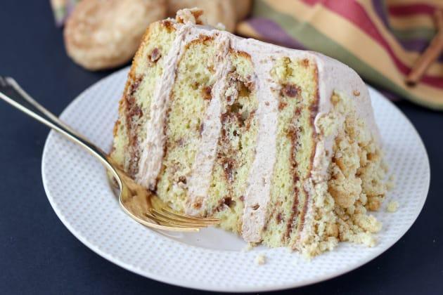 Snickerdoodle Cookie Cake Photo