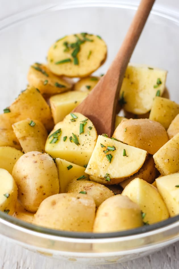 Toaster Oven Rosemary Potatoes Image
