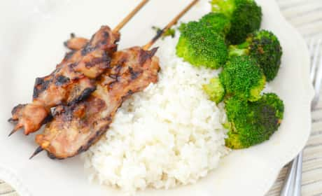 Gluten Free Teriyaki Chicken Skewers Recipe