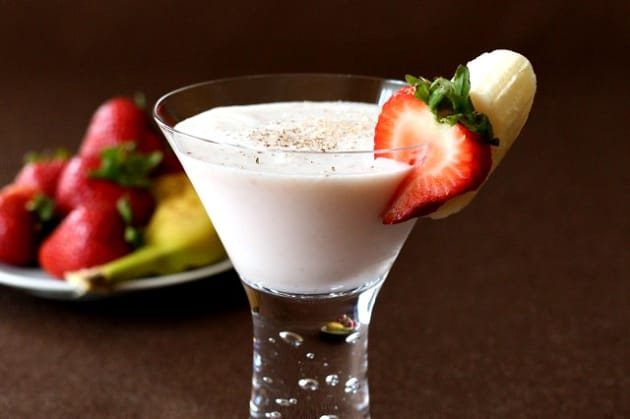 Banana Split Martini Photo