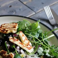 Griddled Halloumi Salad