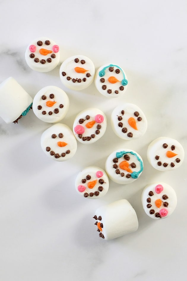Homemade Williams-Sonoma Marshmallow Snowmen Picture