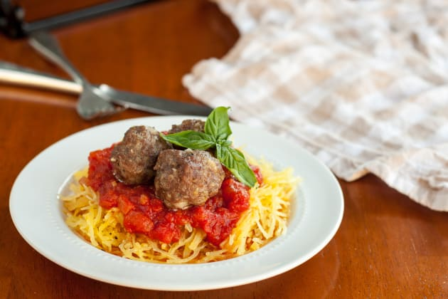 Gluten Free Baked Meatballs Photo