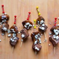 Steak & Mushroom Appetizer Skewers Recipe