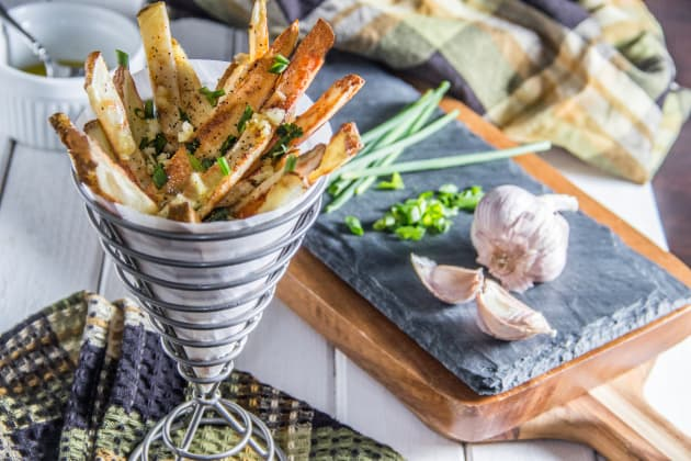 Herb & Garlic Oven Fries Photo