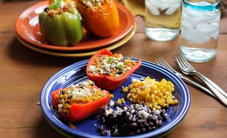 Southwest Stuffed Bell Peppers Recipe
