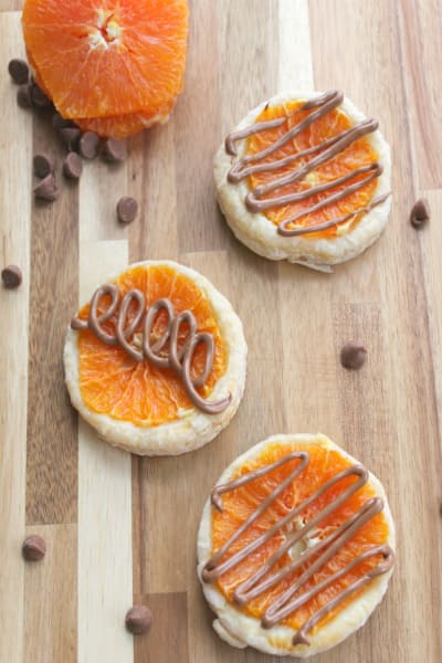 Chocolate Orange Tarts Pic