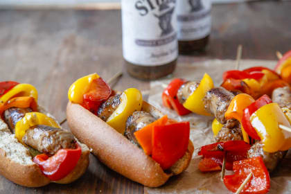 Sweet Black Pepper Bratwursts