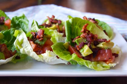 BLT Avocado Wraps