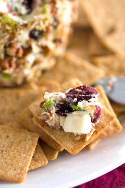 Blue Cheese Cranberry Cheese Ball Picture