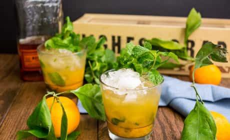 Honey Tangerine Smash Recipe