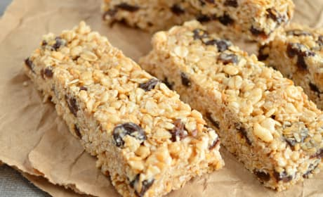 Oatmeal Raisin Cookie Granola Bars Recipe