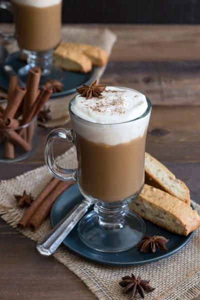 Boozy Pumpkin Chai Latte Image