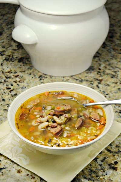 Sausage Bean Soup Picture