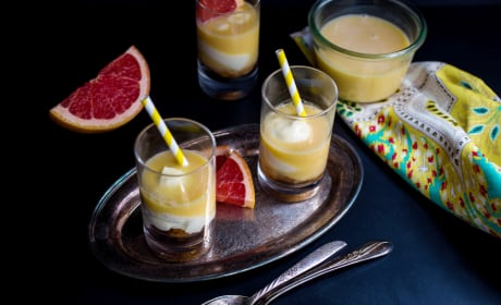 Paloma Cheesecake Shots Photo