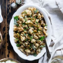 Cauliflower Rice Stuffing Recipe