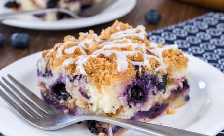 Blueberry Pecan Coffee Cake Recipe