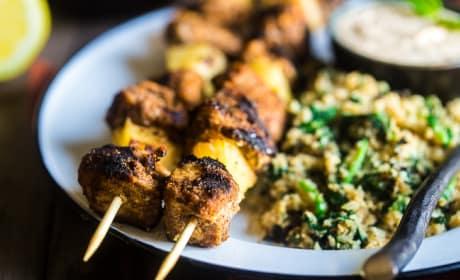 Paleo Indian Chicken Kebabs Recipe