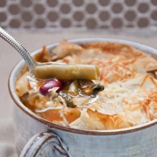 Vegetable pot pie photo