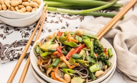 Soba Noodle Stir Fry Recipe