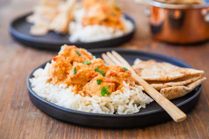 Indian Butter Chicken for Two