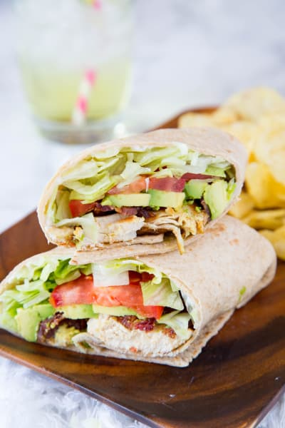 Chicken Club Wrap Image