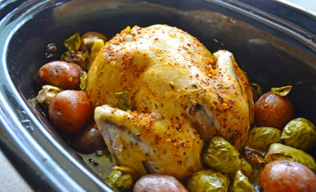 Slow Cooker Chicken and Potatoes Image