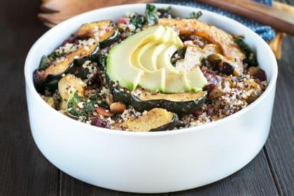 Harvest Acorn Squash Quinoa Salad