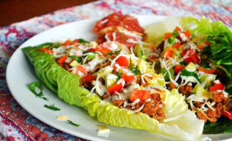 Taco Salad Boats Recipe