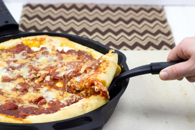 Cast Iron Deep Dish Pizza Picture
